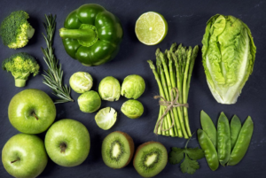 Понос светло зеленого цвета